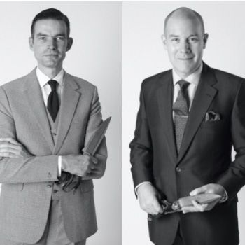 Huntsman appoints two co Head cutters, home grown talent Dario Carnera, and Kilgour Head Cutter Campbell Carey. Carey also assumes the role of Creative Director
